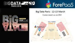 ForePaaS-stand-D5- big-data-paris-2018