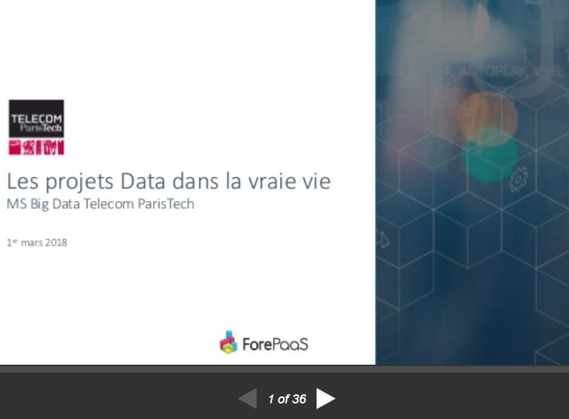 Les projets Data dans la vraie vie