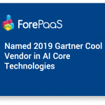 ForePaaS named a Cool Vendor in the Gartner 2019 Cool Vendors in AI Core Technologies report