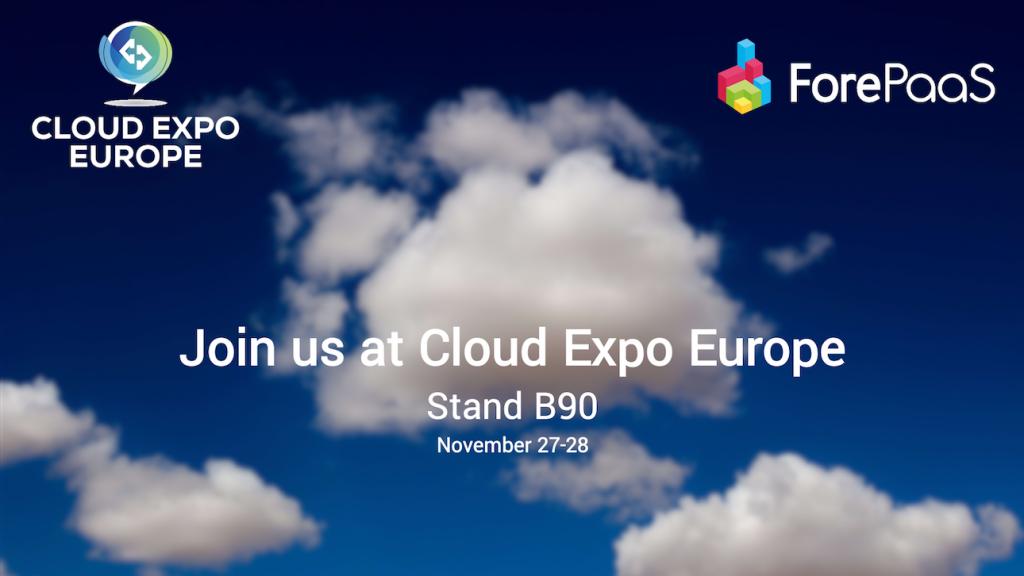 ForePaaS au Cloud Expo Europe