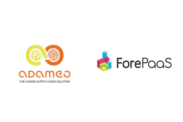Artificial intelligence in the Supply Chain: adameo and ForePaaS announce their partnership